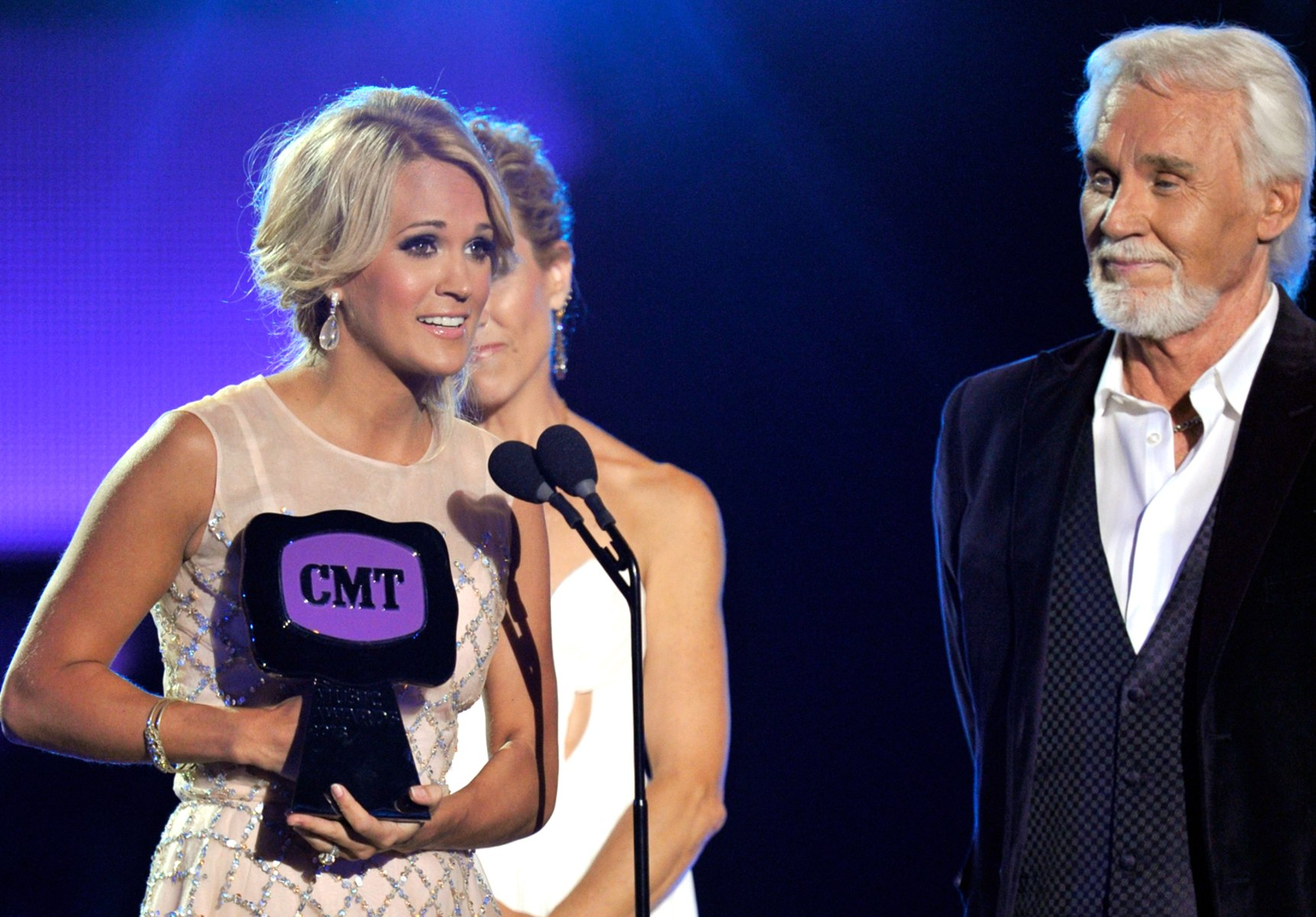 Image: Carrie Underwood, Kenny Rogers
