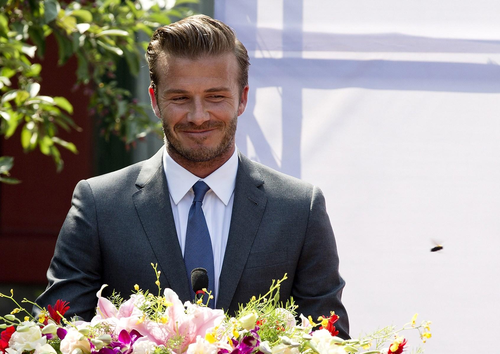 Image: David Beckham