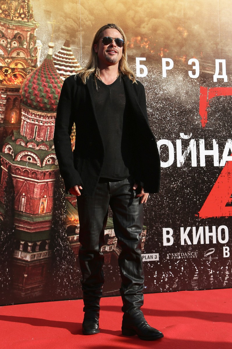 Image: World War Z - Moscow Premiere