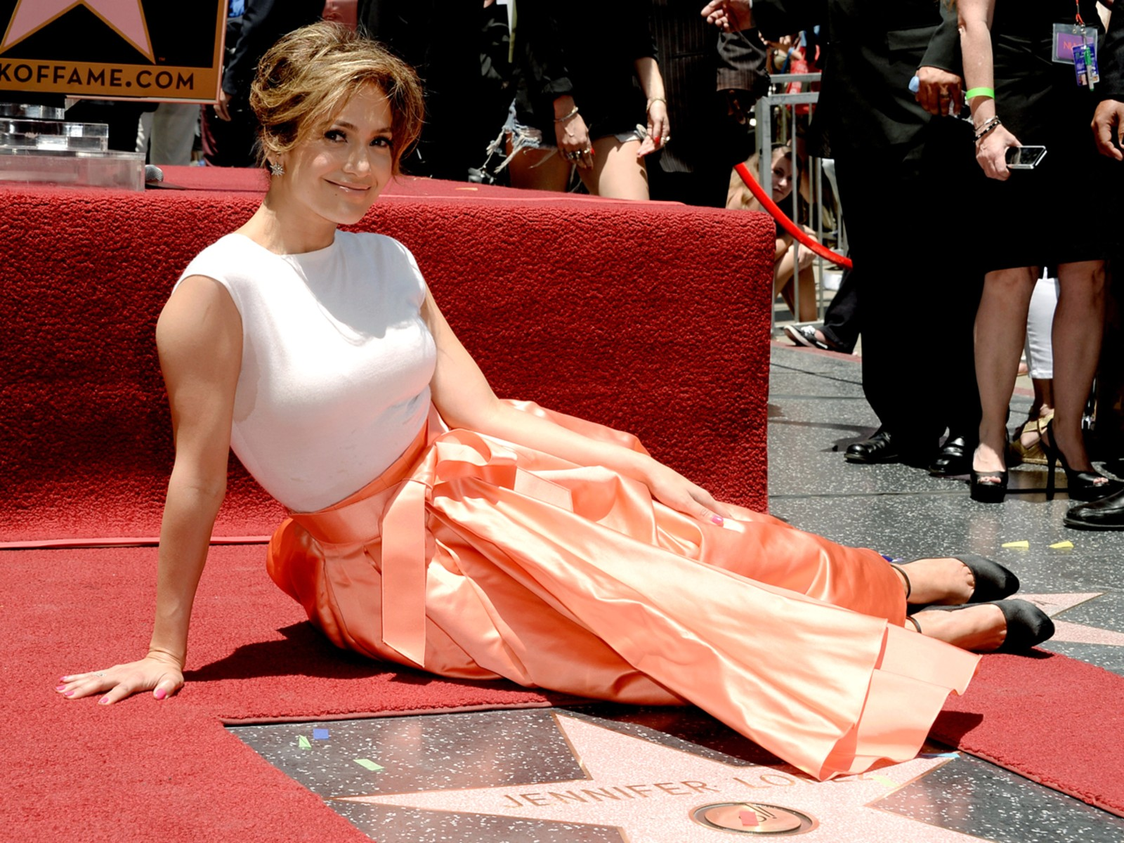 Image: Jennifer Lopez Honored On The Hollywood Walk Of Fame