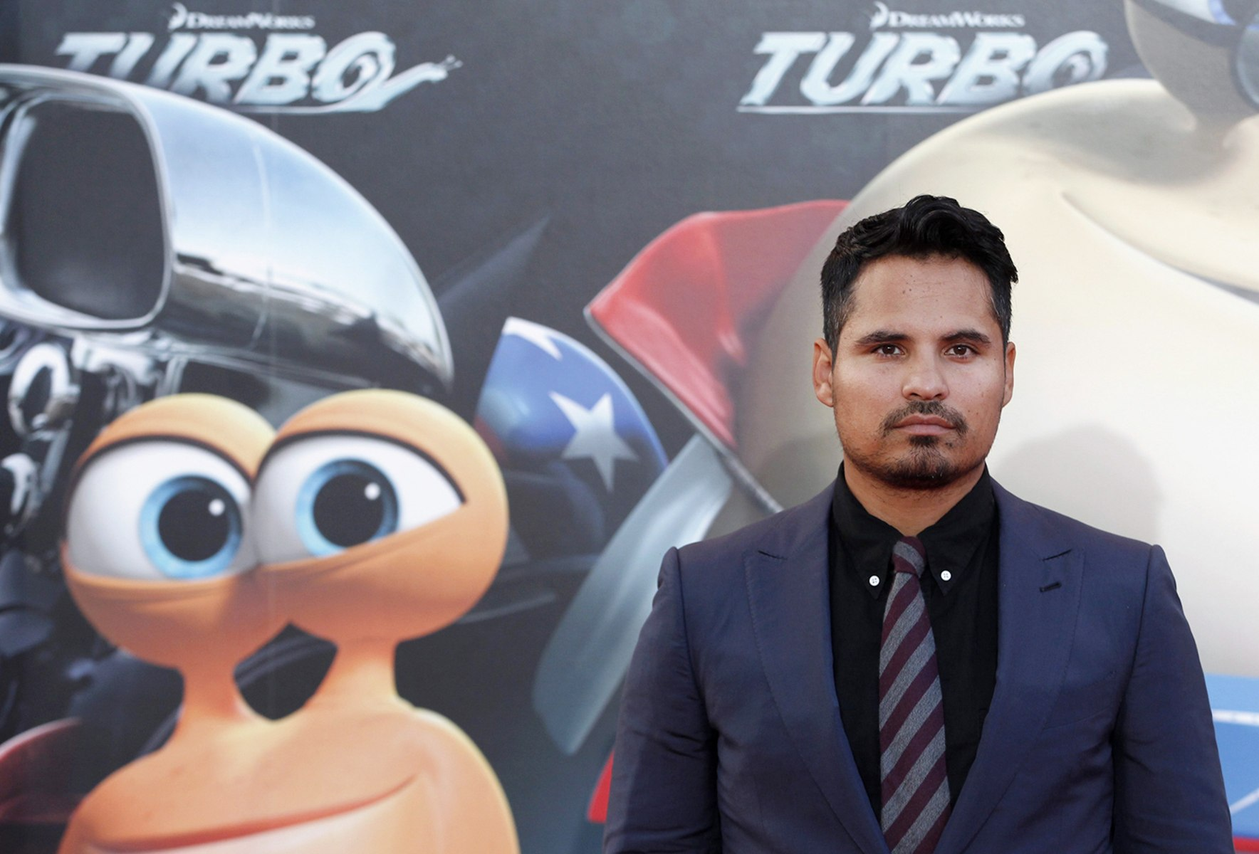Image: Turbo voice cast actor Michael Pena at world premiere in Barcelona