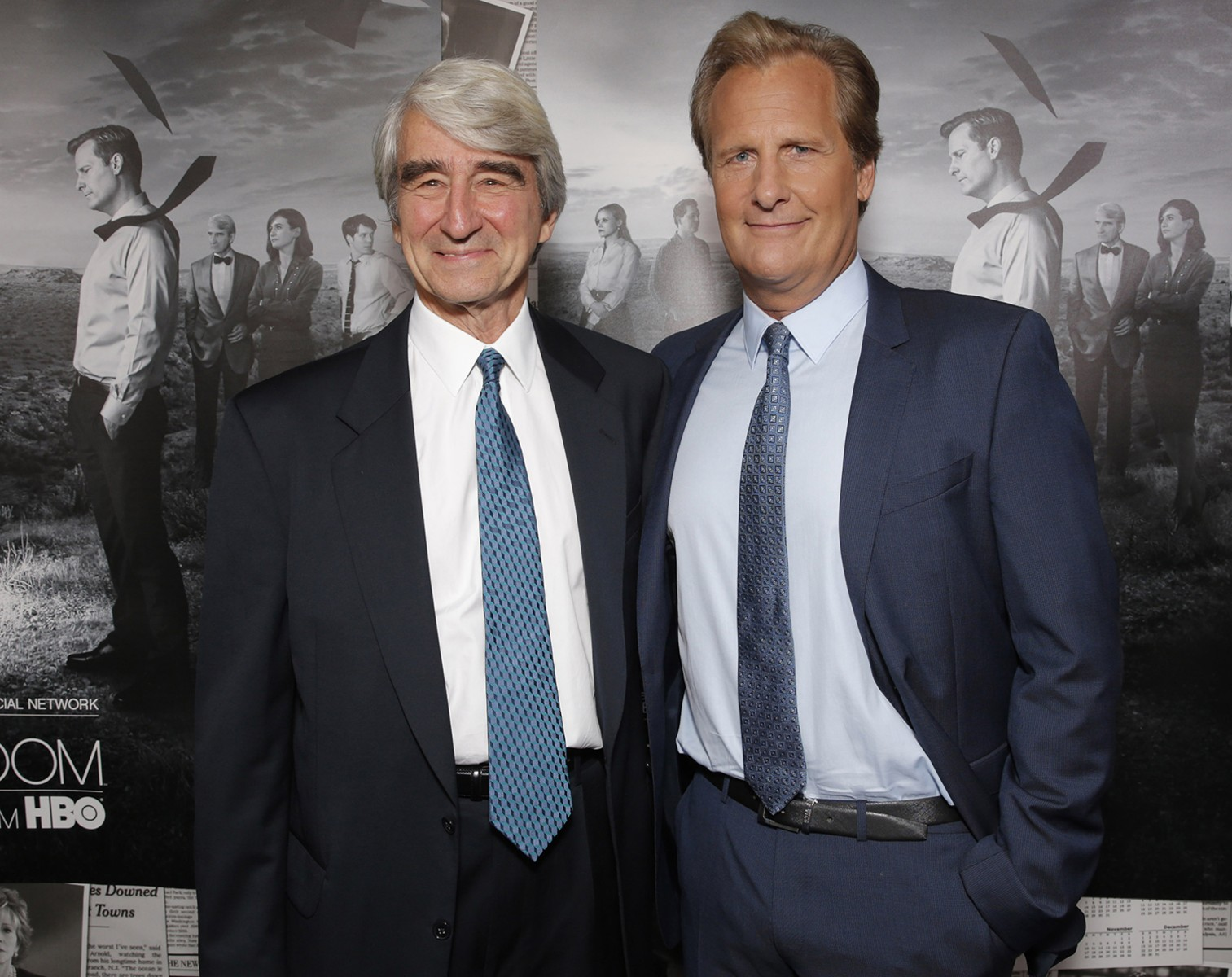 Image: Sam Waterston, Jeff Daniels