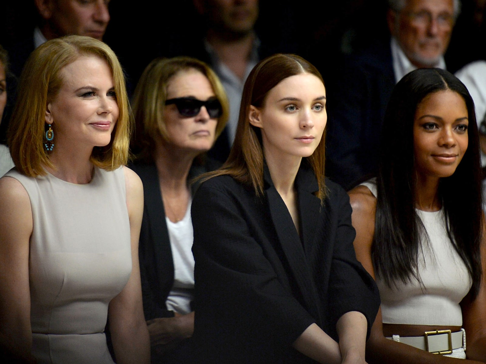 Image: Calvin Klein Collection - Front Row - Mercedes-Benz Fashion Week Spring 2014