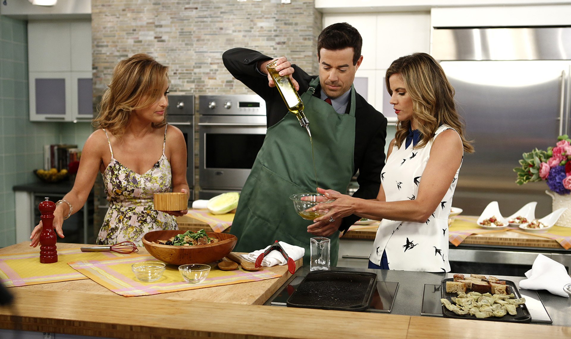 The Kitchen Show Cast from 'trl' to today: carson daly through the years - today
