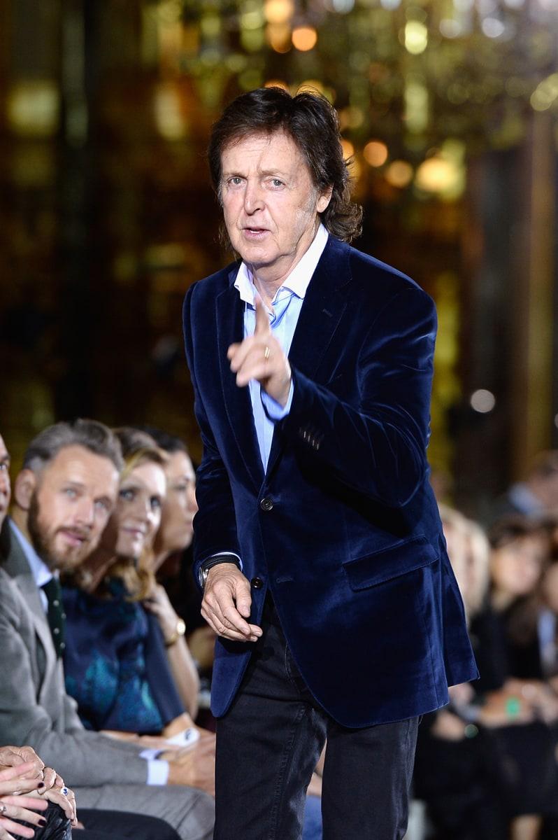 Image: Stella McCartney: Front Row - Paris Fashion Week Womenswear Spring/Summer 2014