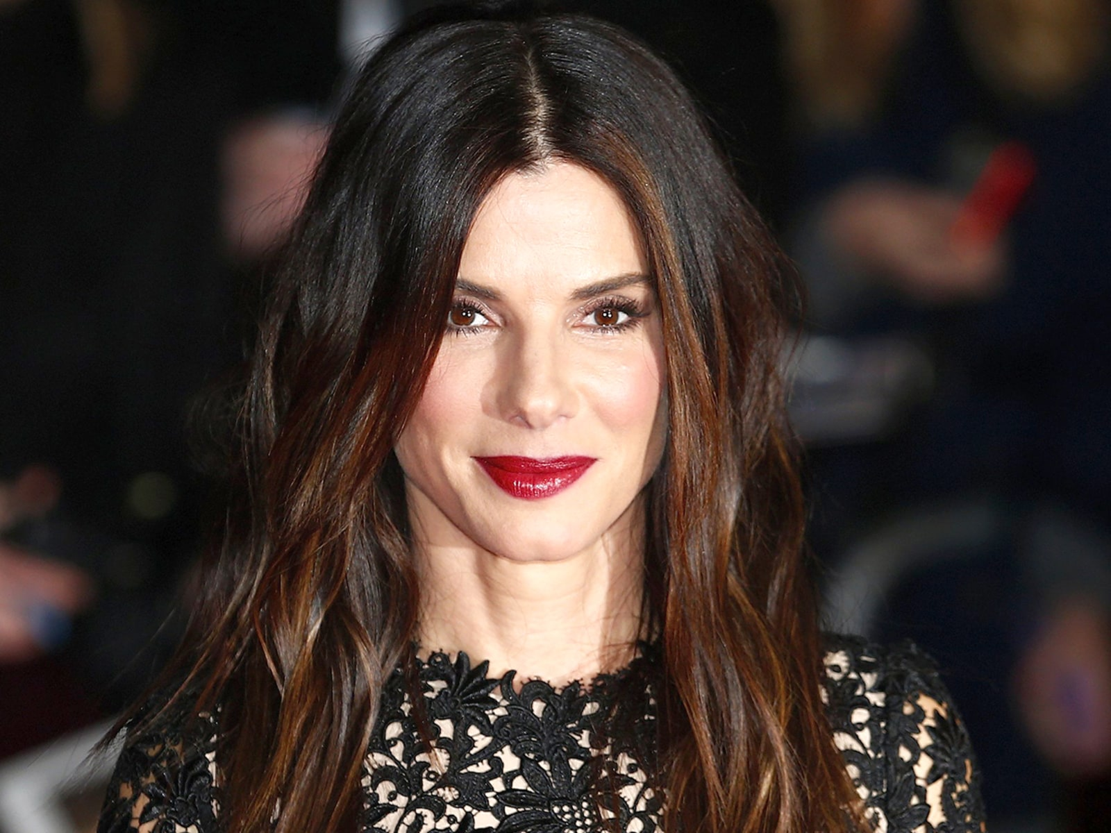 "Image: Actress Sandra Bullock arrives at a gala screening of her film ""Gravity"" at the London Film Festival at a cinema in Leicester Square, central London"