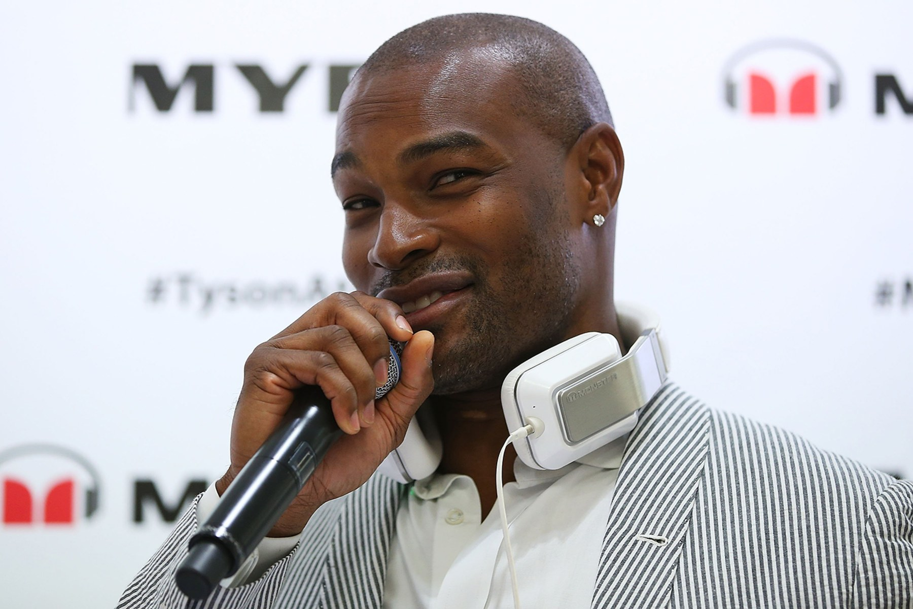 Image: Tyson Beckford Myer In-Store Appearance
