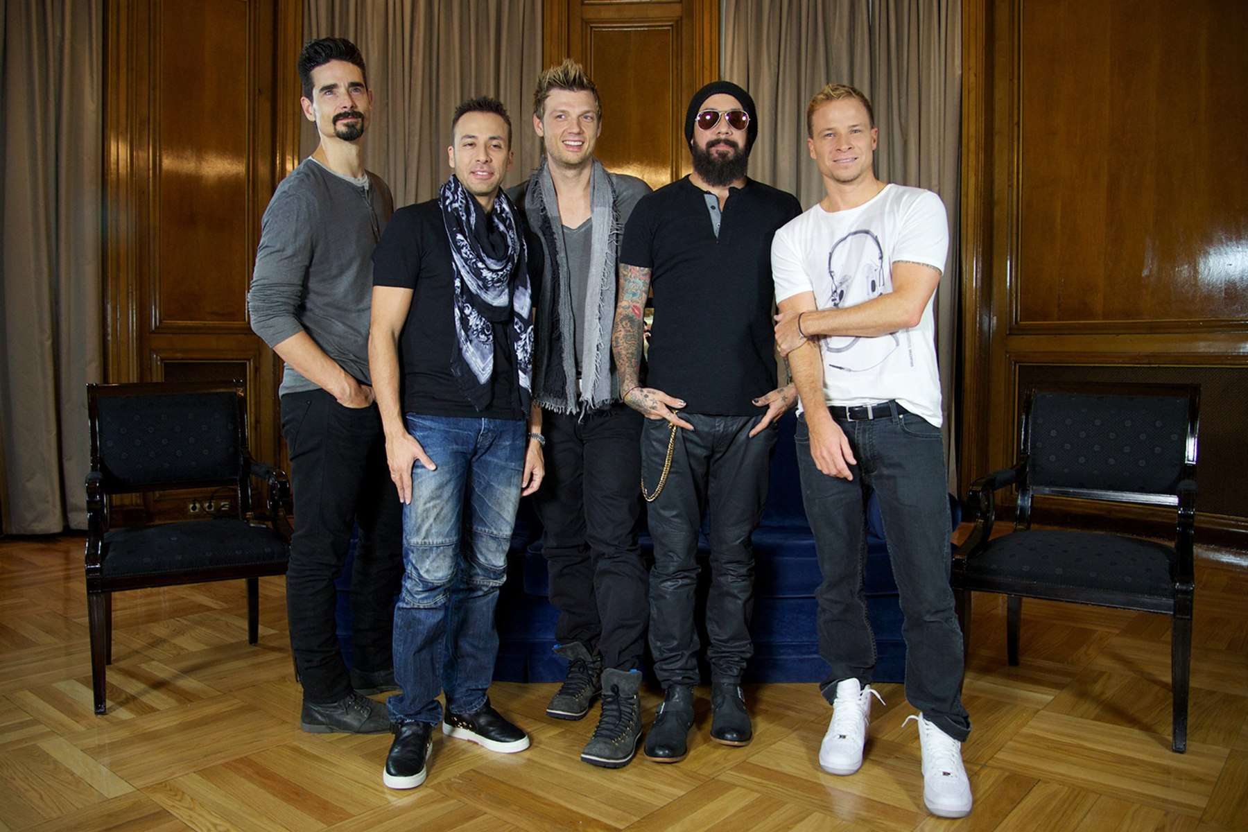 Image: Backstreet Boys Madrid Photocall