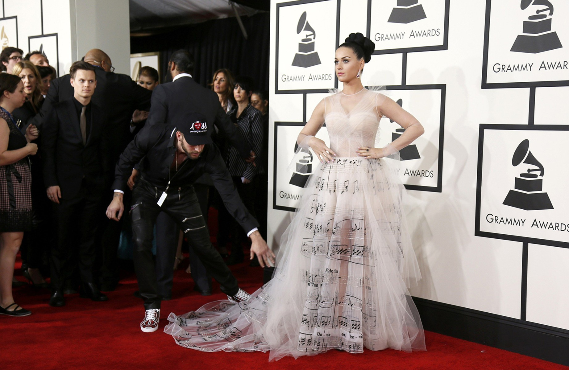 Grammy Award: 2014 Grammy Awards Red Carpet