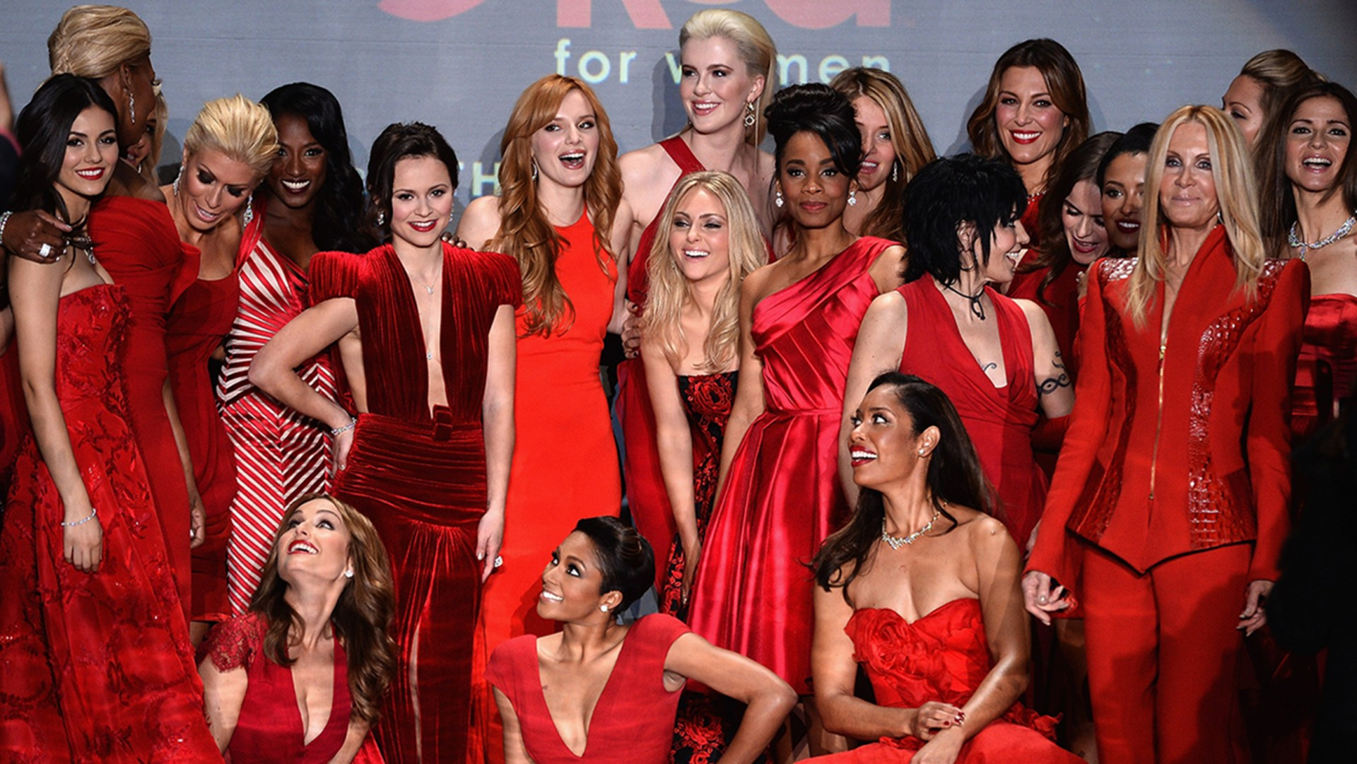 Image: Go Red For Women - The Heart Truth Red Dress Collection 2014 Show Made Possible By Macy's And SUBWAY Restaurants - Runway