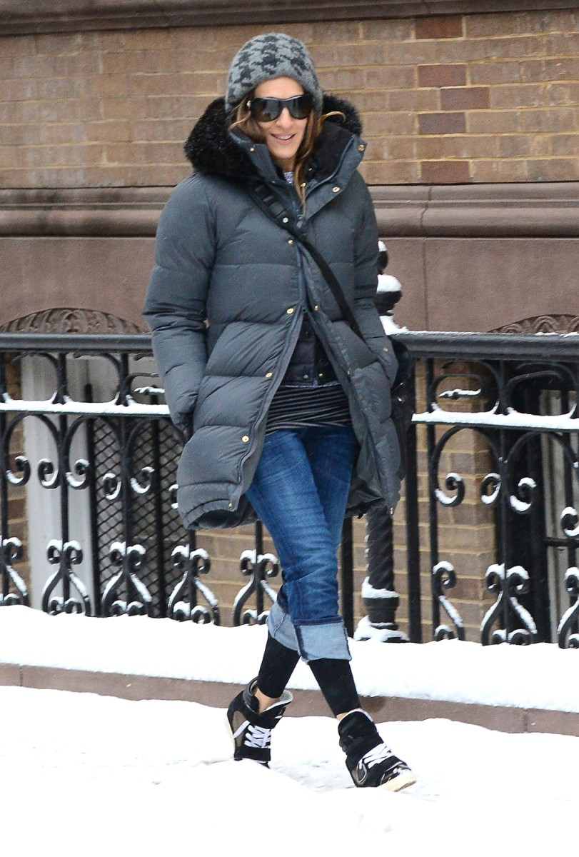 Image: Celebrity Sightings In New York City - February 18, 2014