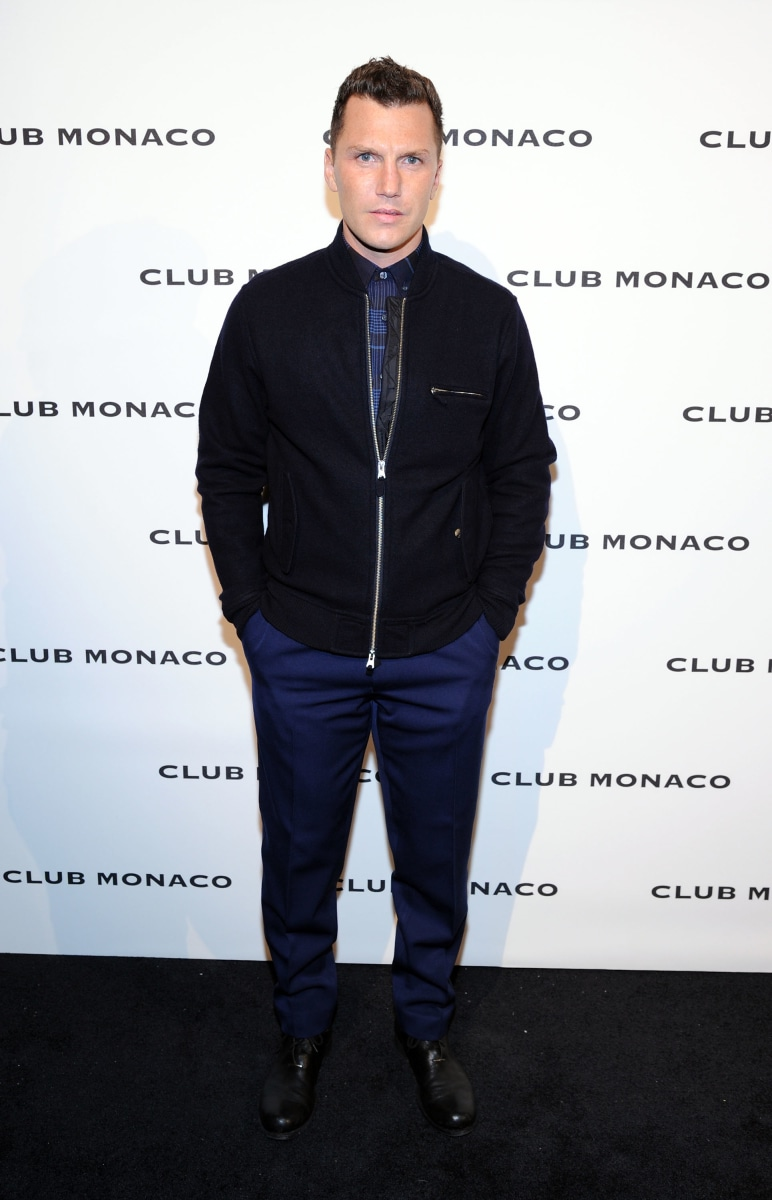 Club Monaco's Fifth Avenue Flagship Opening Celebration