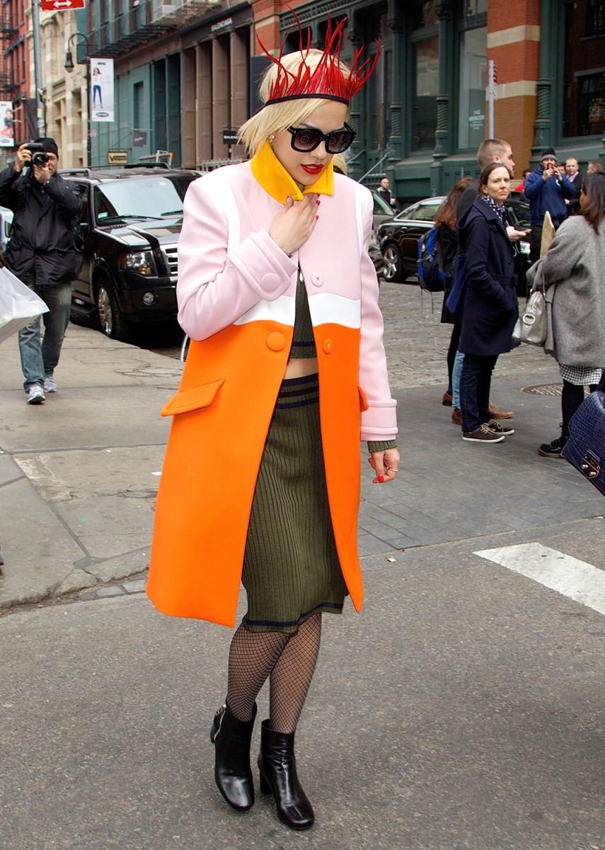 Celebrity sightings new york today headlines