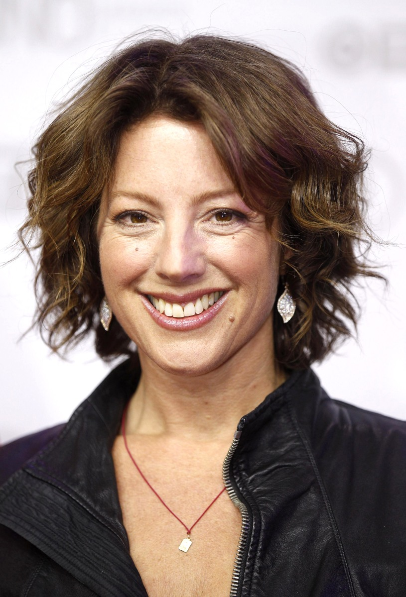 Image: Sarah McLachlan arrives on the red carpet at the 2014 Juno Awards in Winnipeg