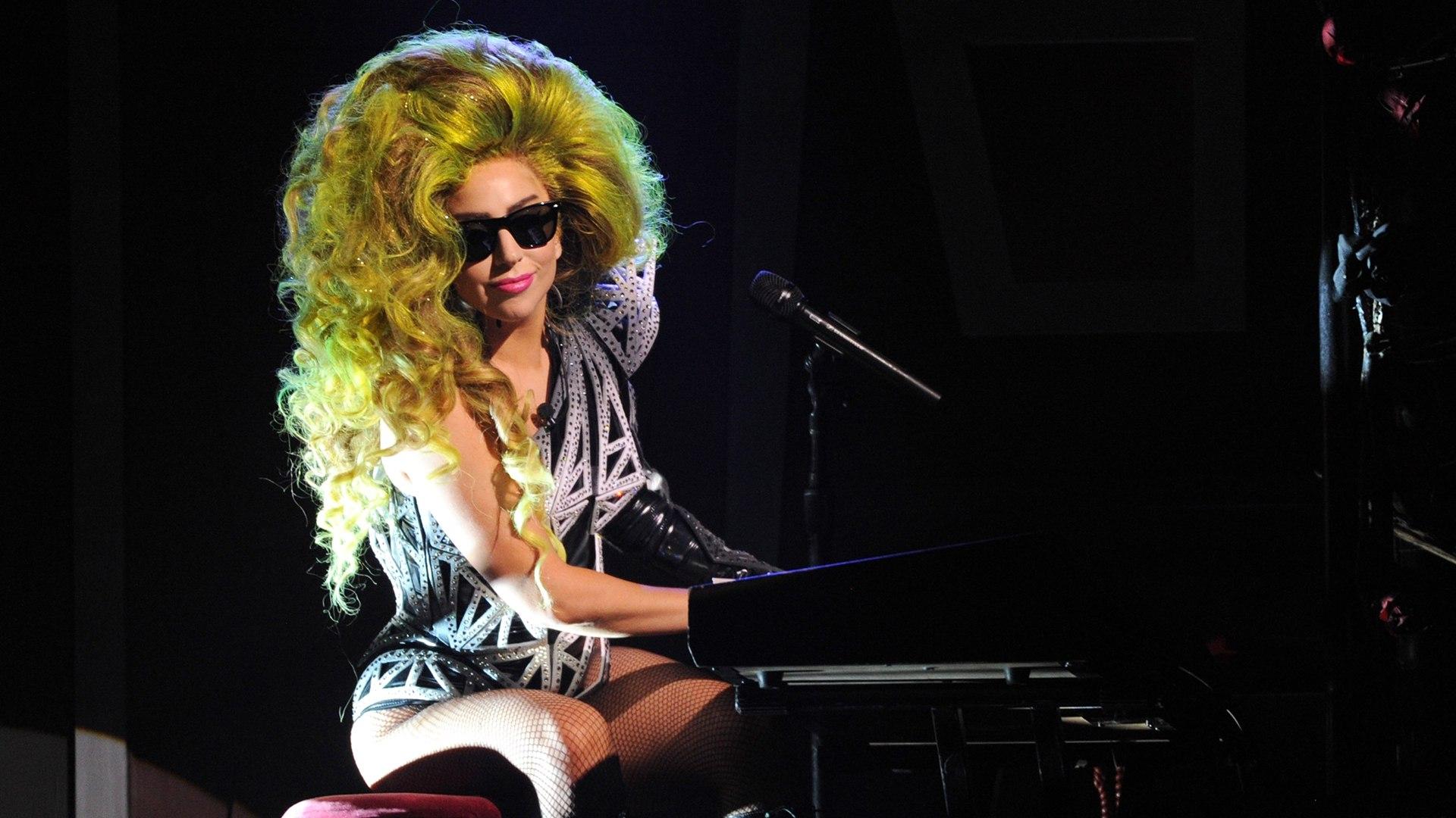 Image: Lady Gaga Live At Roseland Ballroom - March 30, 2014