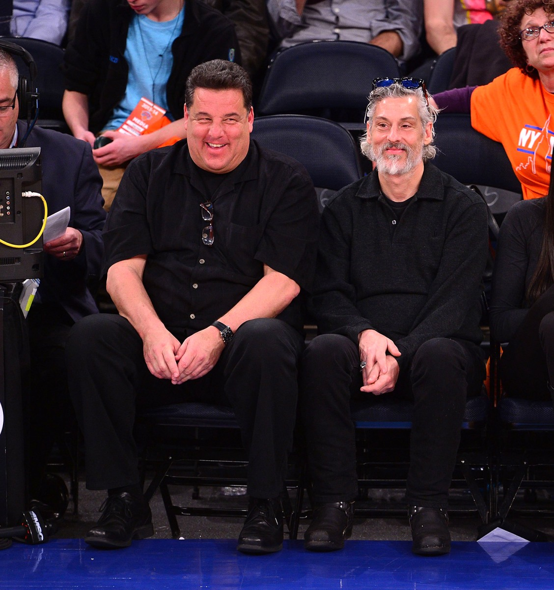 Image: Celebrities Attend The Toronto Raptors Vs New York Knicks Game - April 16, 2014