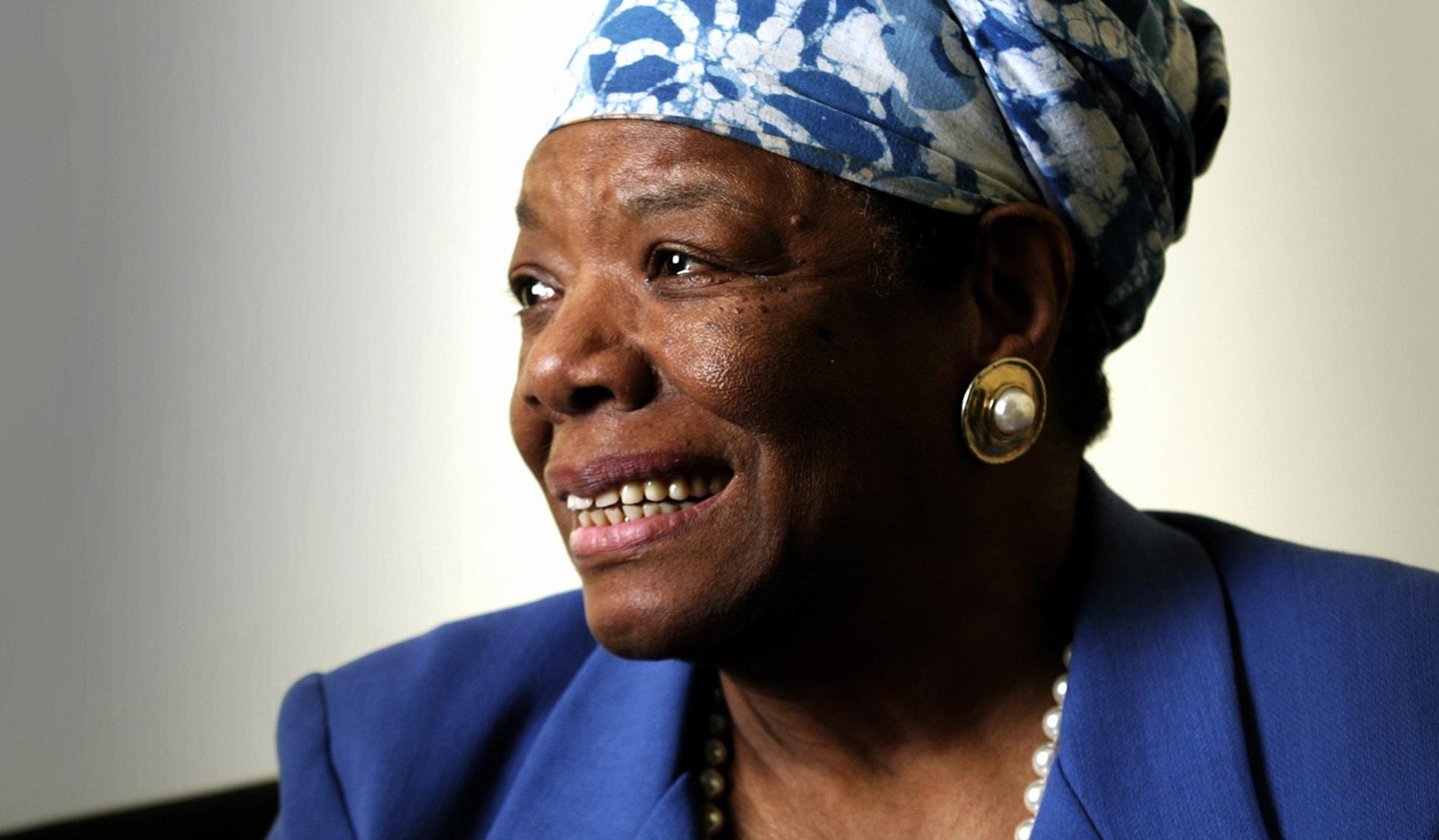 Image: Dr Maya Angelou