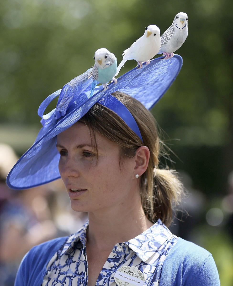 Ascot Hats: The Best (and Kookiest) Hats From The Royal Ascot 2014