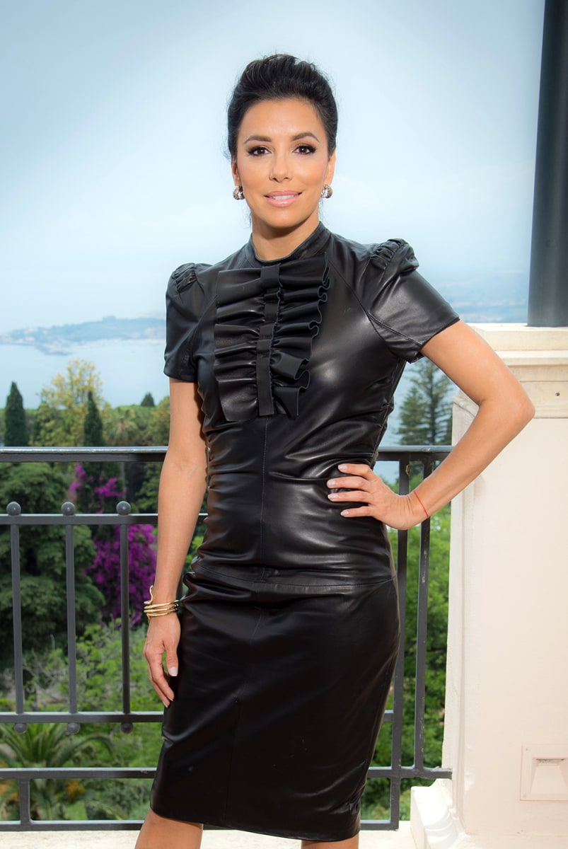Image: Eva Longoria Portrait Session - 60th Taormina Film Fest