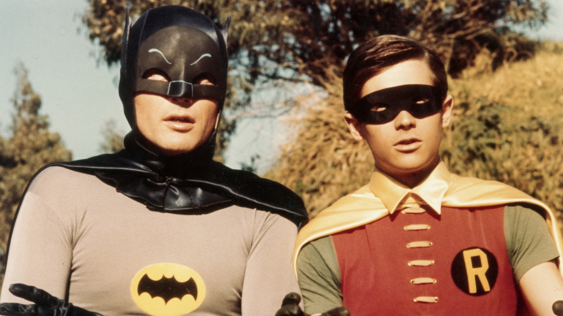 BATMAN, from left, Adam West, Burt Ward, 1966-68