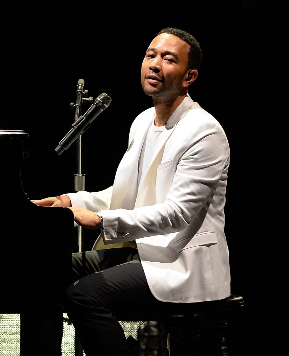 Image: John Legend Performs At Mizner Park Amphitheater