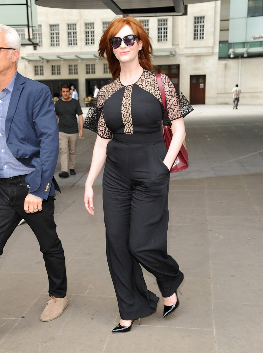 Image: London Celebrity Sightings -  August 4, 2014