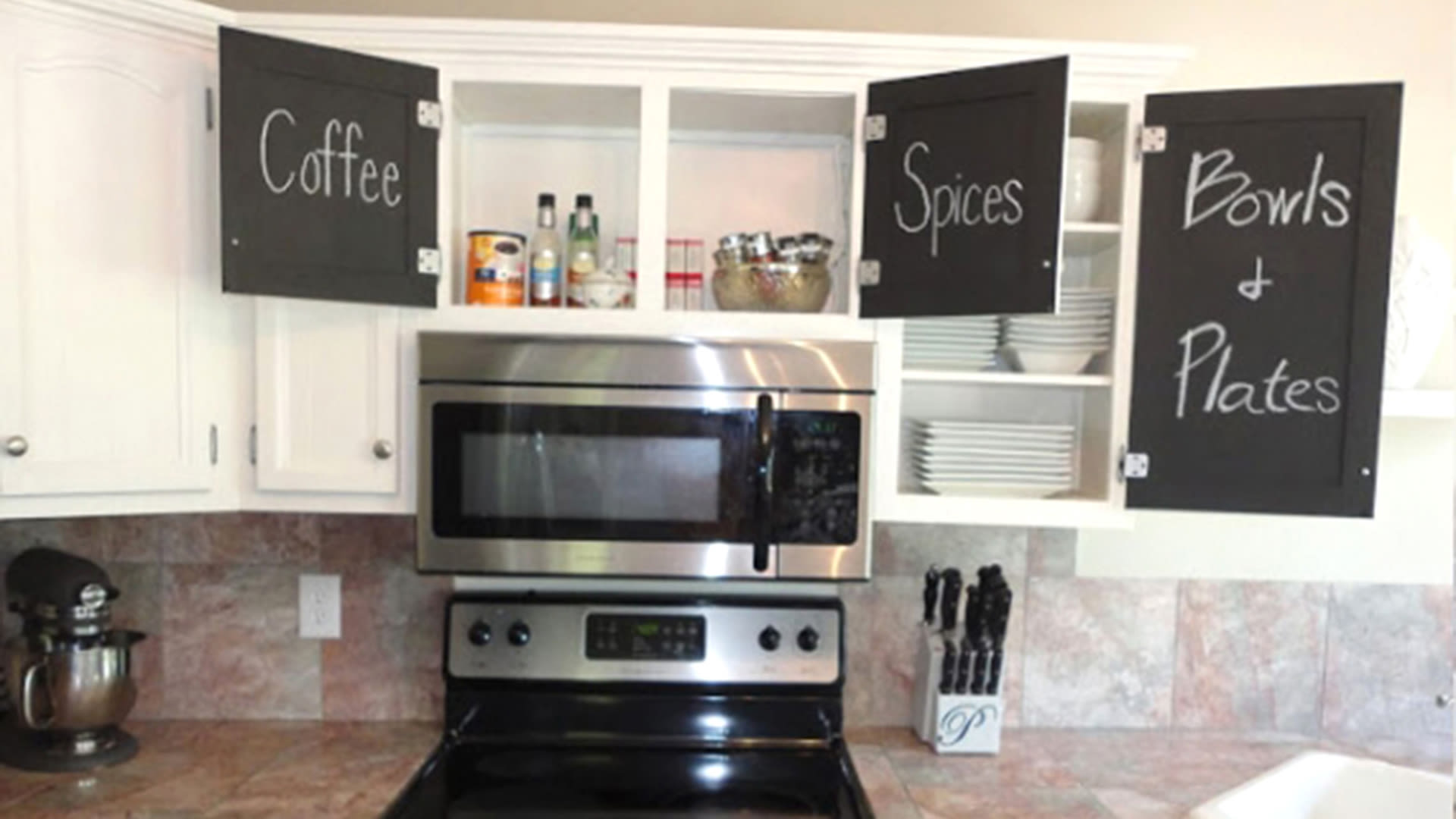 Chalkboard Paint Kitchen Diy Home Projects Chalkboard Paint Diy Projects Todaycom