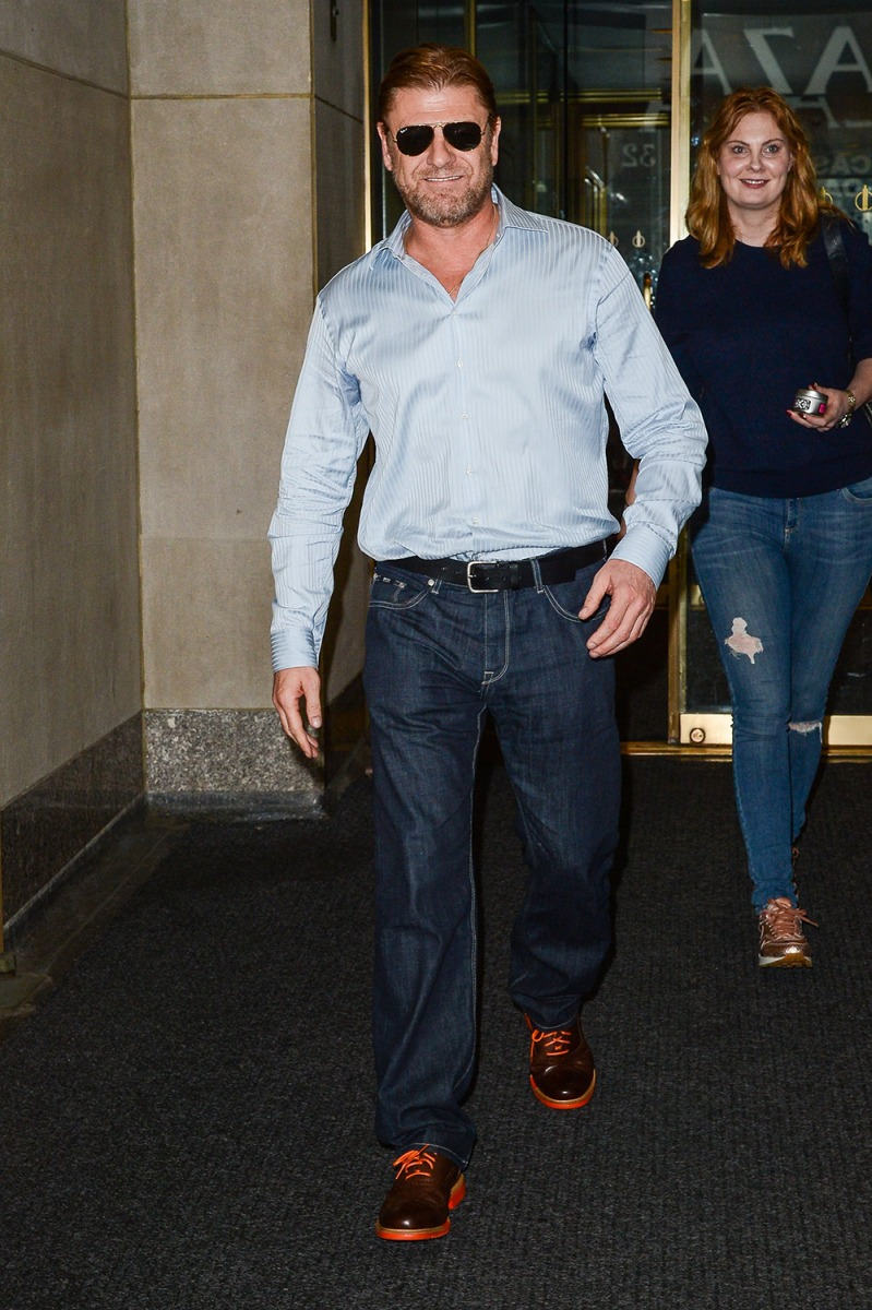 Image: Celebrity Sightings In New York City - August 12, 2014