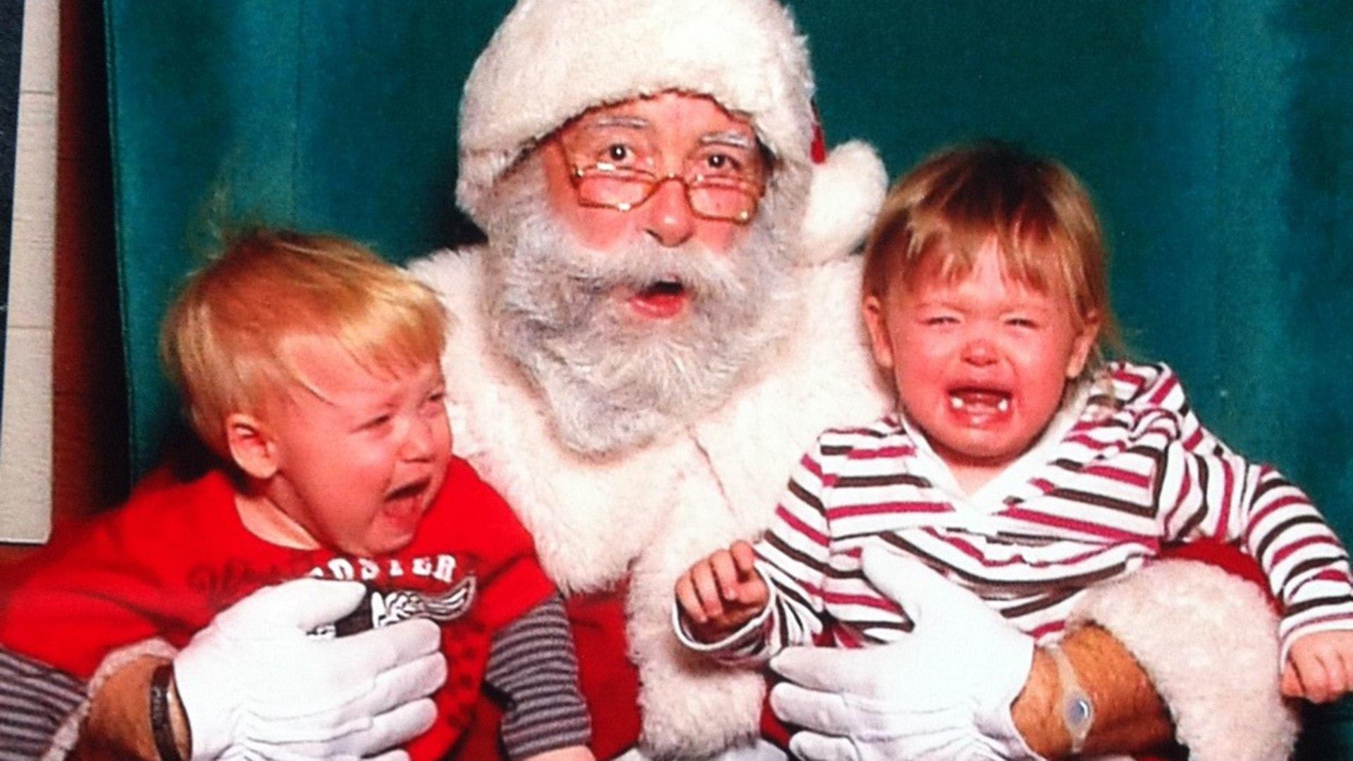 Kids On Santa S Lap Horror