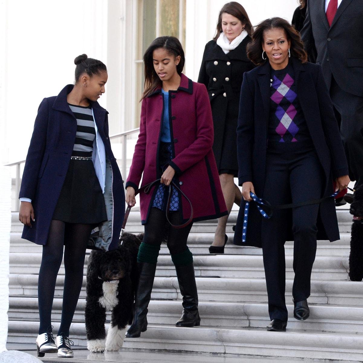 Meghan Mccain Family Tree: Sasha And Malia Obama's Style