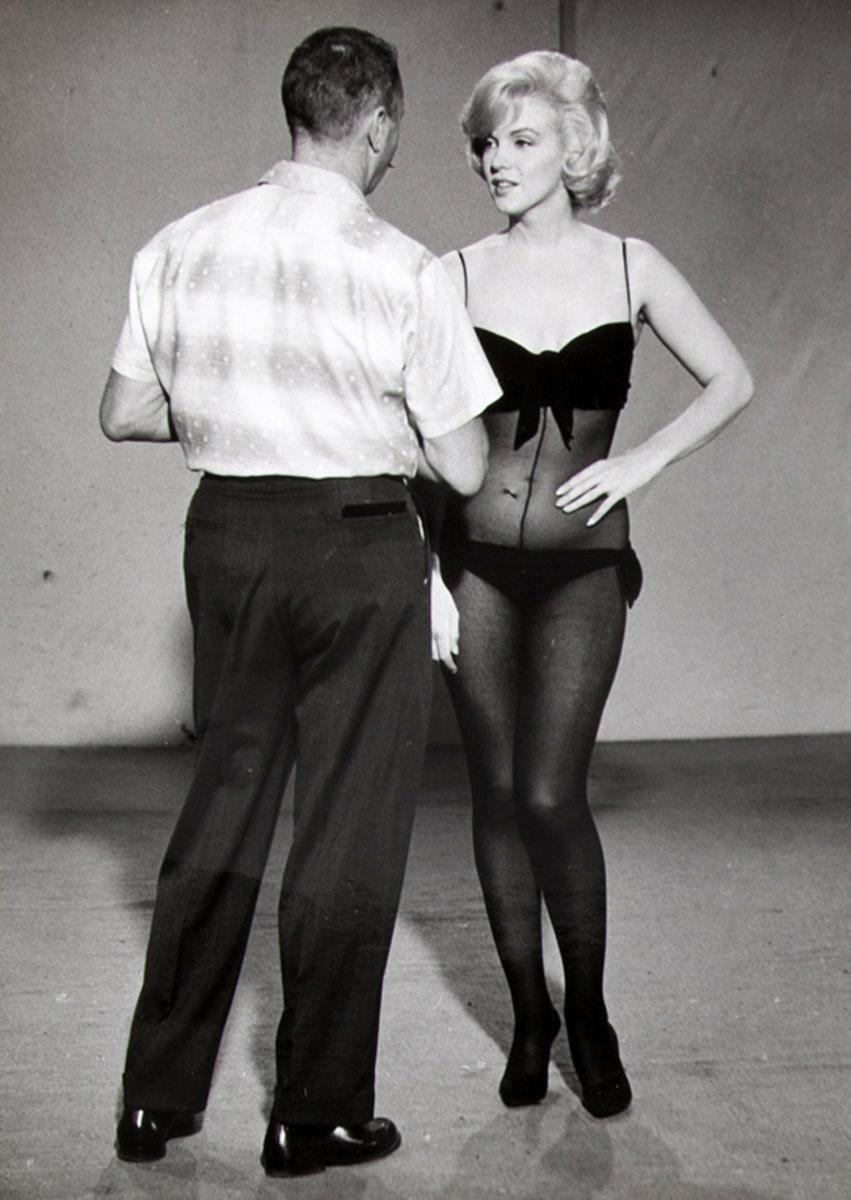 Marilyn Monroe's dress...