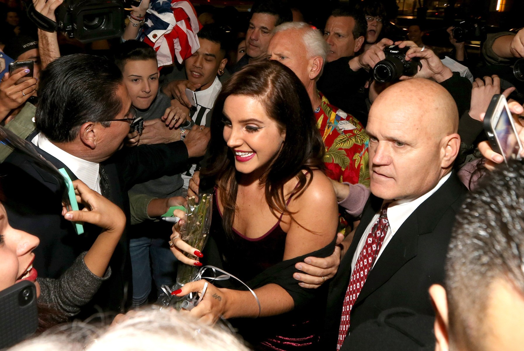 Image: Multi-Platinum Artist Lana Del Rey Premieres Tropico At Cinerama Dome @ The ArcLight Hollywood
