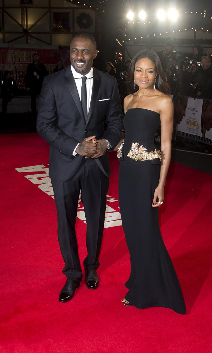 Image: Idris Elba, Naomie Harris