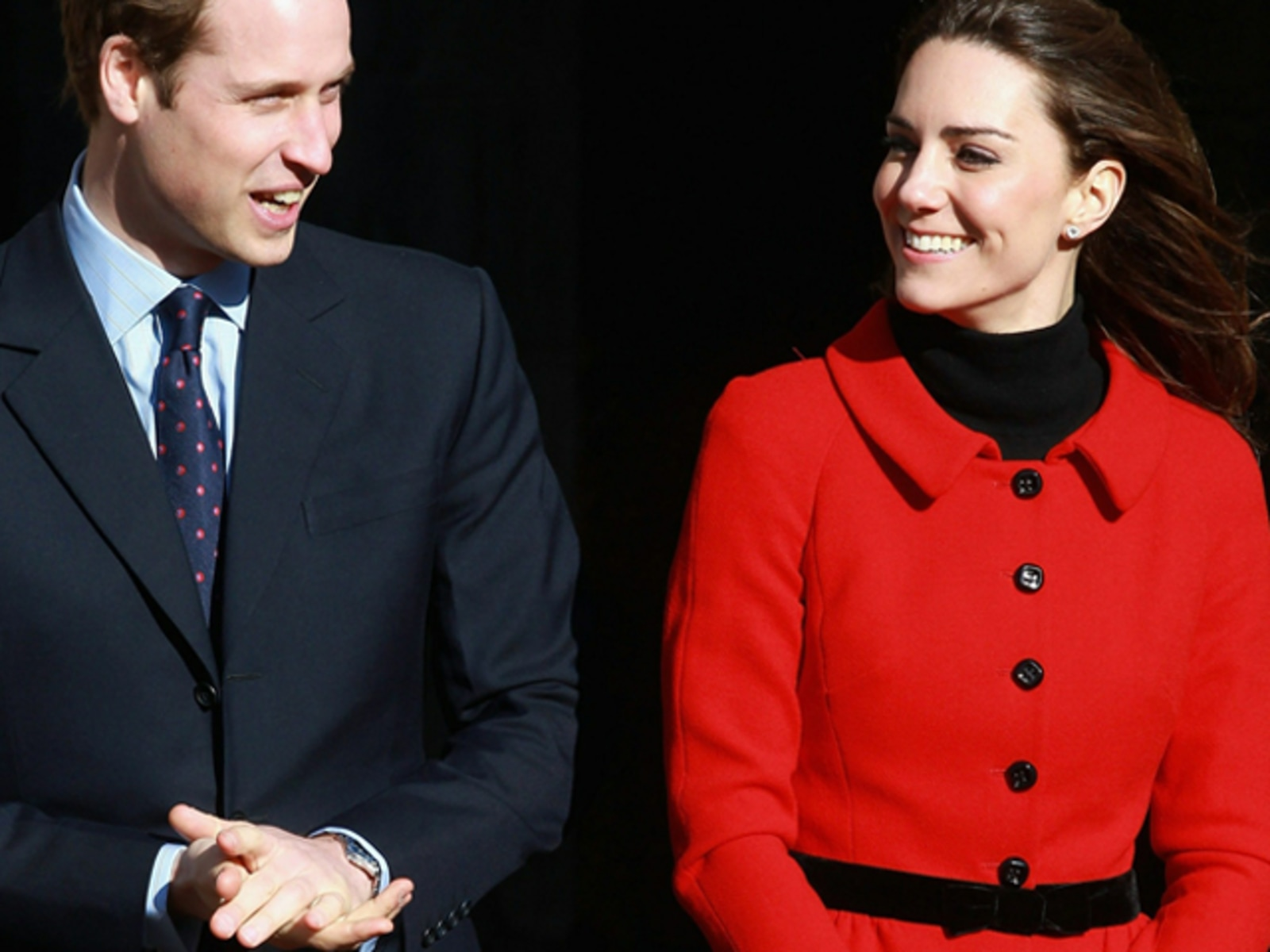 Image: Prince William And Kate Middleton Visit University Of St Andrews