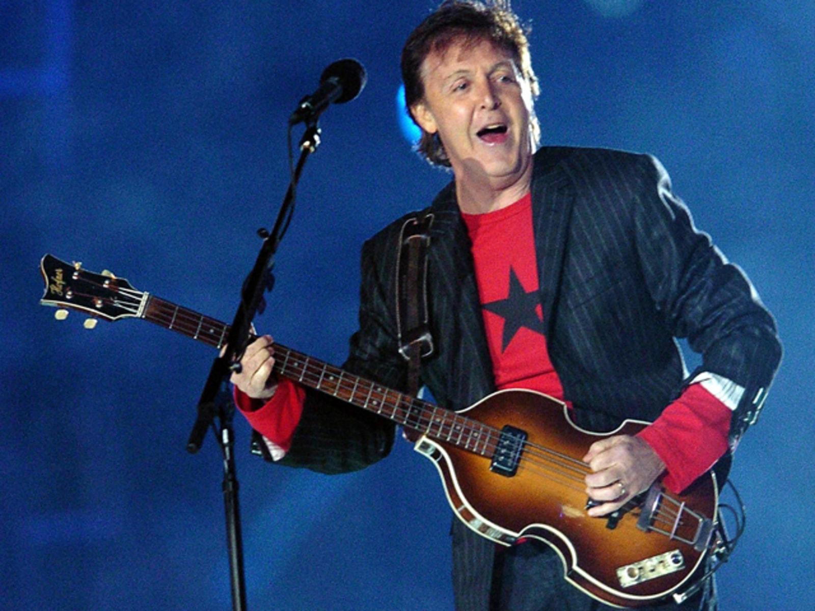 Image: Paul McCartney.
