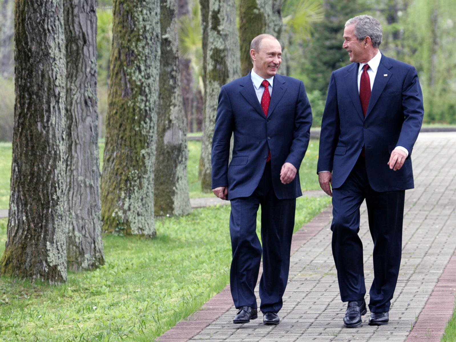Bush Admits Mistakes Defends Decisions Today Com