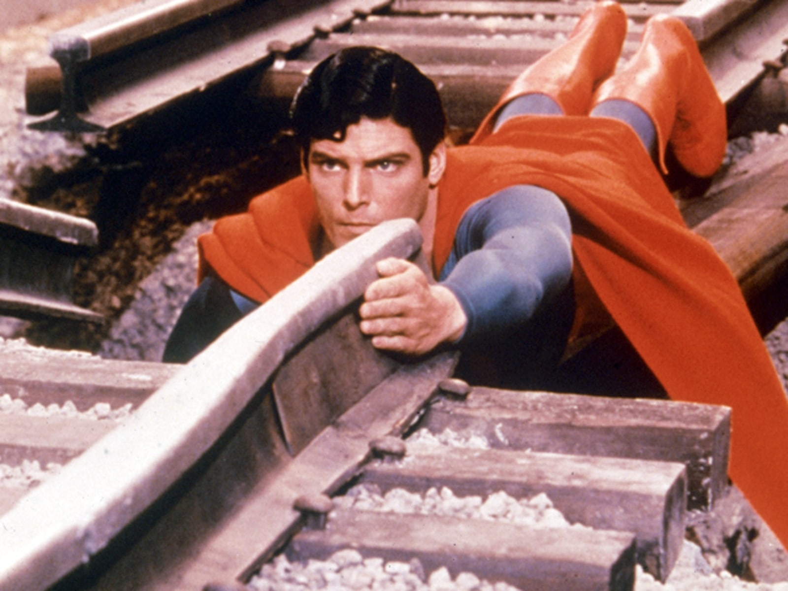 Christopher Reeve As 'Superman'