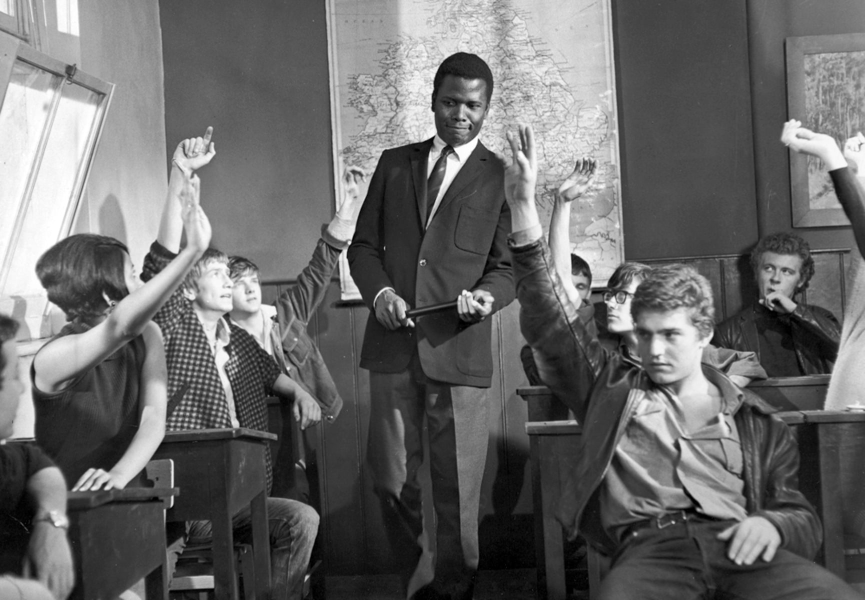 essays of sidney poitier It is a book-length essay that draws not only from baldwin's adolescent  when  sidney poitier jumps off the train, the white liberal people.