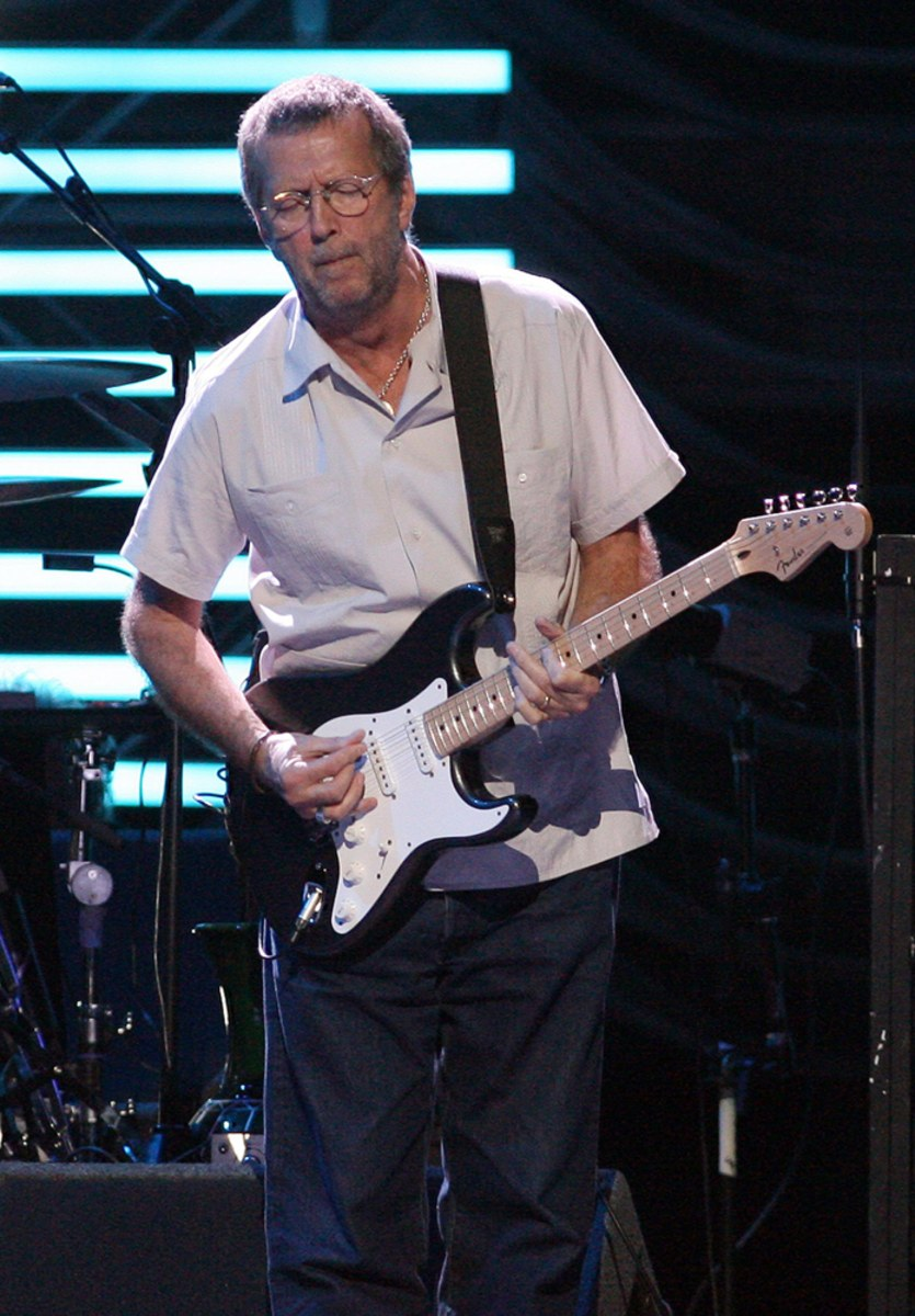 Eric Clapton Concert At American Airlines Arena