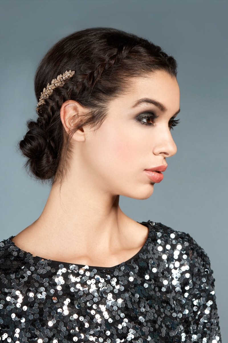 Perfect holiday hairstyles: Grecian goddess updo - TODAY.com
