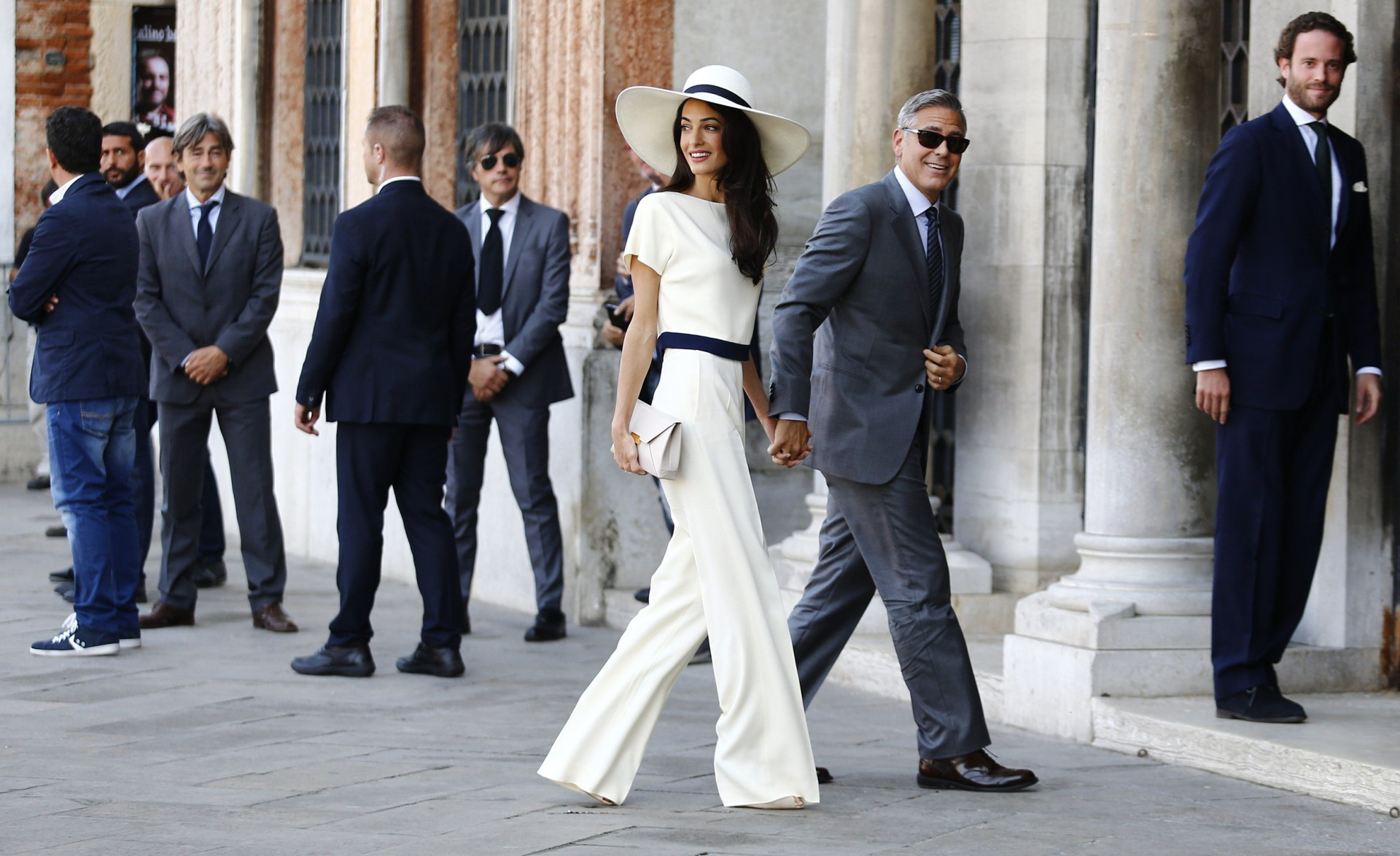 George And Amal Clooney Stun In First Post-Baby Red Carpet Appearance