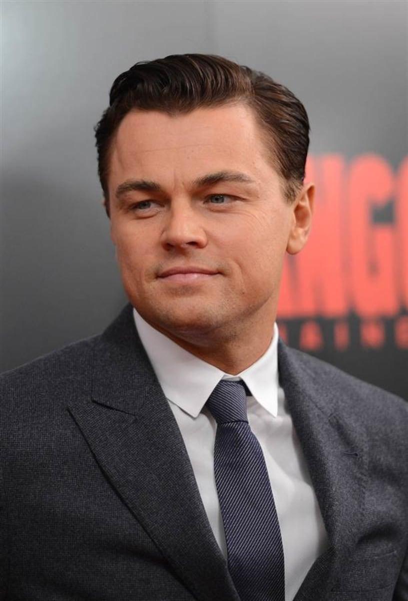 Leonardo DiCaprio wins his first Oscar ever for 'Revenant ... Leonardo Dicaprio