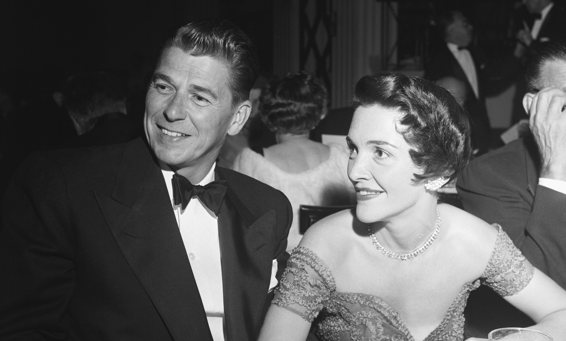 Ronald Reagan with wife Nancy