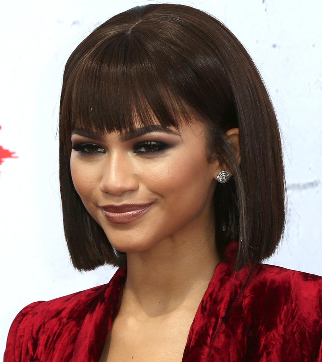 Zendaya Hairstyles : 2016 Celebrity Short Hairstyles with Short Hairstyles Auburn Hair also ...