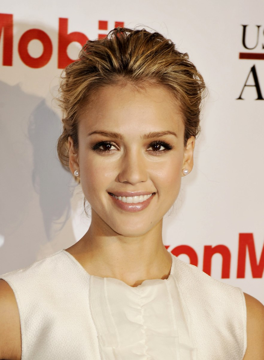 how to get jessica alba short hair style