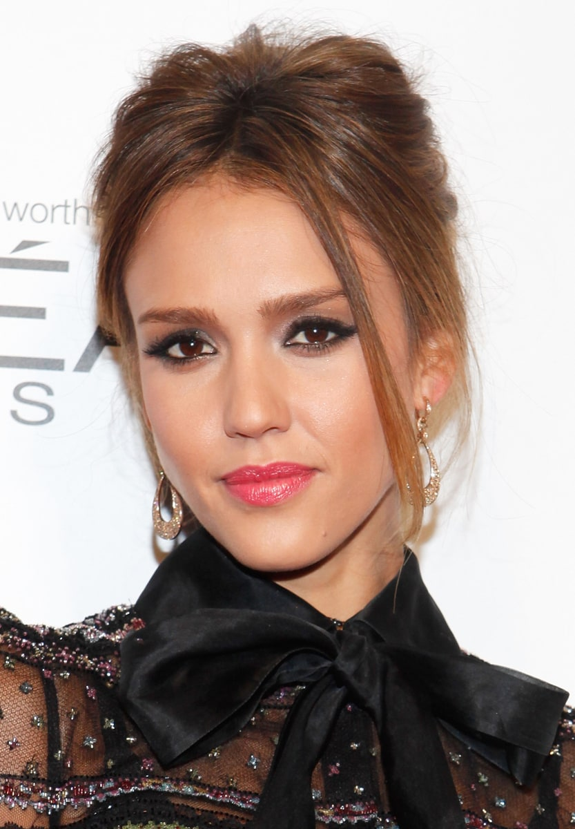 Jessica Alba's hairstyles through the years - TODAY.com Jessica Alba