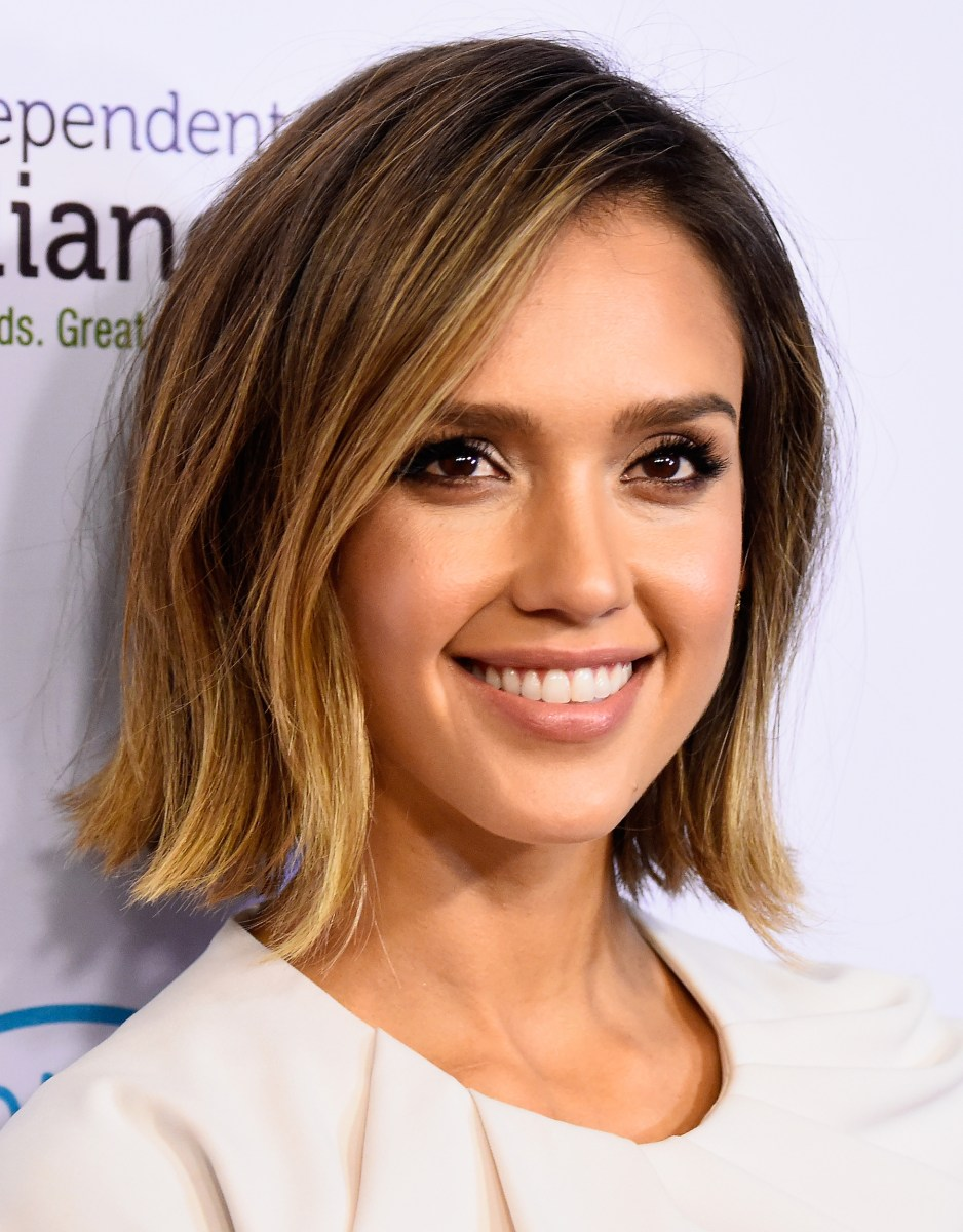 Straight shoulder length hairstyles 2018