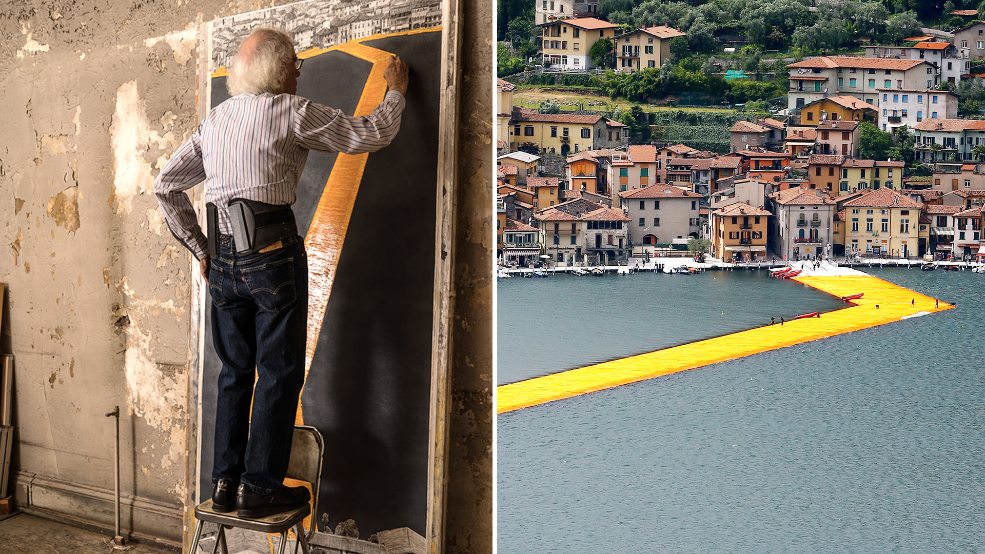 The Floating Piers Of Christo And Jeanne Claude Today Com