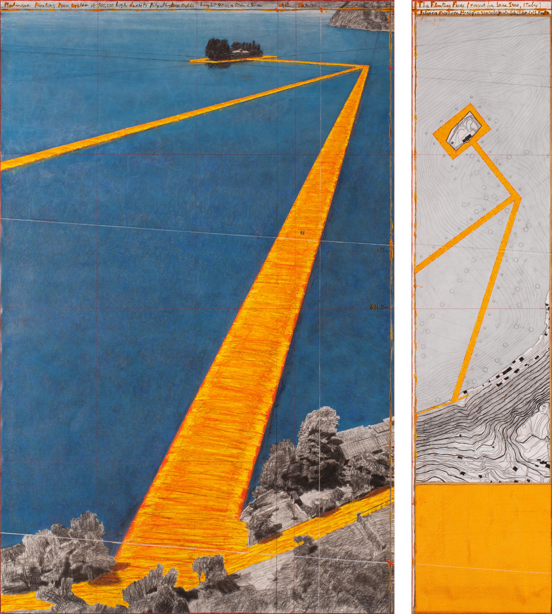 The Peir: Christo's 'Floating Piers' Artwork Lets People Walk Across