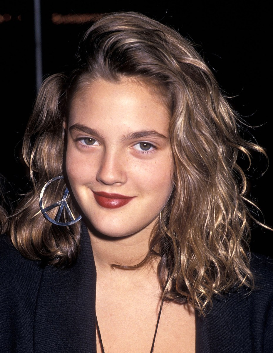 Drew Barrymore S Hair Evolution Today Com